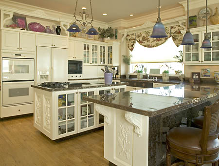 Kitchen on Kitchen Designs With White Cabinets